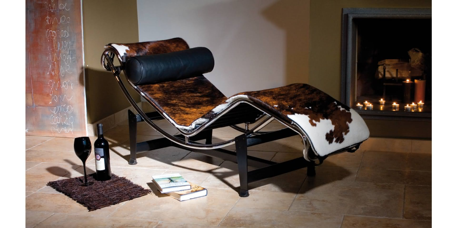 Lc4 Chaise Longue Lounger Le Corbusier Revetement En Cuir